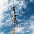 Crane in sky — Stock Photo #1046740