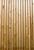 Cedar wooden plank vertical — Stock Photo