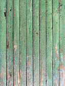 Green weathered plank — Stock Photo