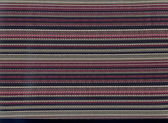 Closeup of a structure of a striped fabr — ストック写真