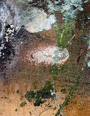 Grunge burned wall — Stock Photo