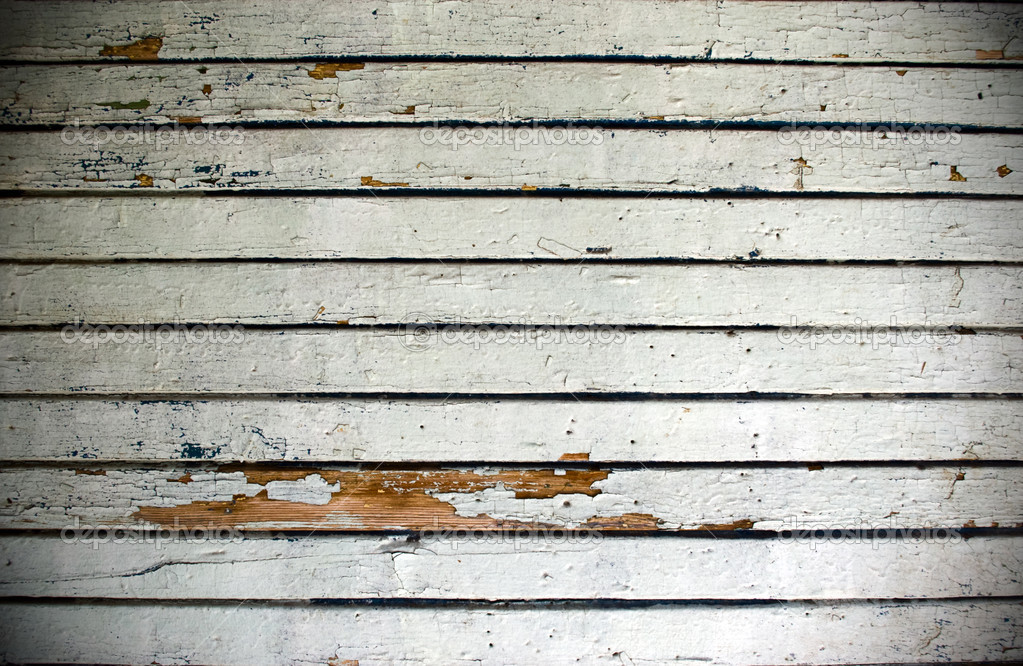 Vintage background from obsolete wooden plank — Photo #1040924