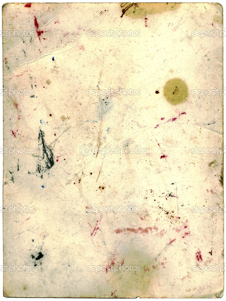 Stained and scratched grunge cardboard (image is got from the turn of old photo) — Stock Photo #1041242