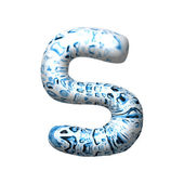3D water drop small letter — Stock Photo