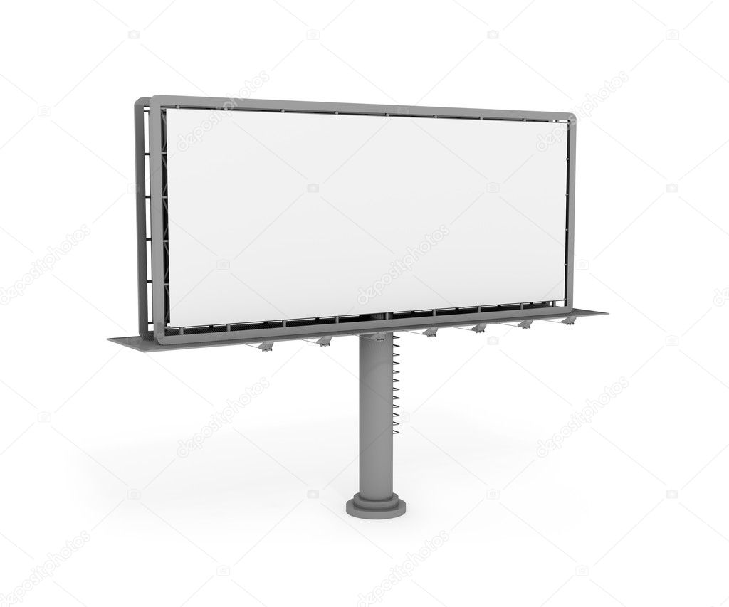 Big billboard format 5x2m. 3d digital generated image   Stock Photo #2231093