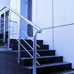 Modern office entrance — Stock Photo