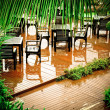 After tropical monsoon - Stock Photo