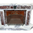 Royalty-Free Stock Photo: Marble fireplace