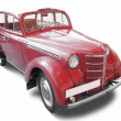Red vintage car — Stock Photo