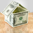 Money house — Stock Photo