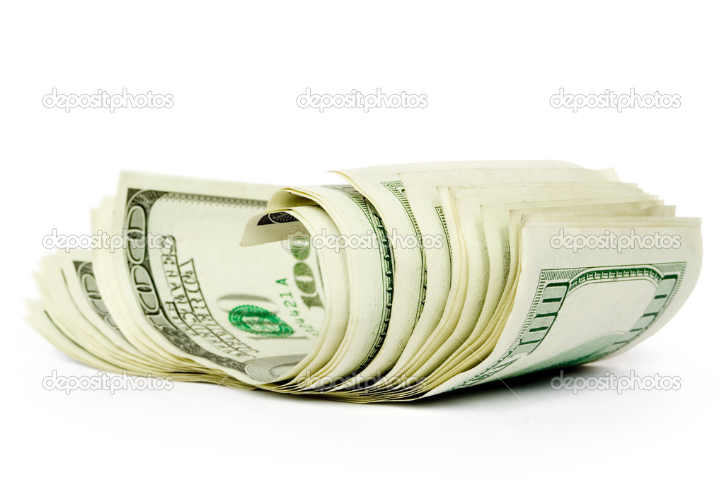 Money concepts. sheaf of dollars  Stock Photo #1012884
