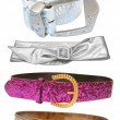 Belts - female accessories - Foto Stock