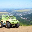 Toy jeep — Stock Photo