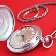 Stock Photo: Ancient pocket watch
