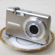 Digital compact camera — Stock Photo