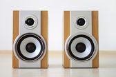 A pair of speakers — Stock Photo