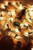 Christmas lights — Foto Stock