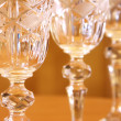 Stock Photo: Crystal glasses