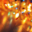 Christmas lights — Stockfoto #1428254