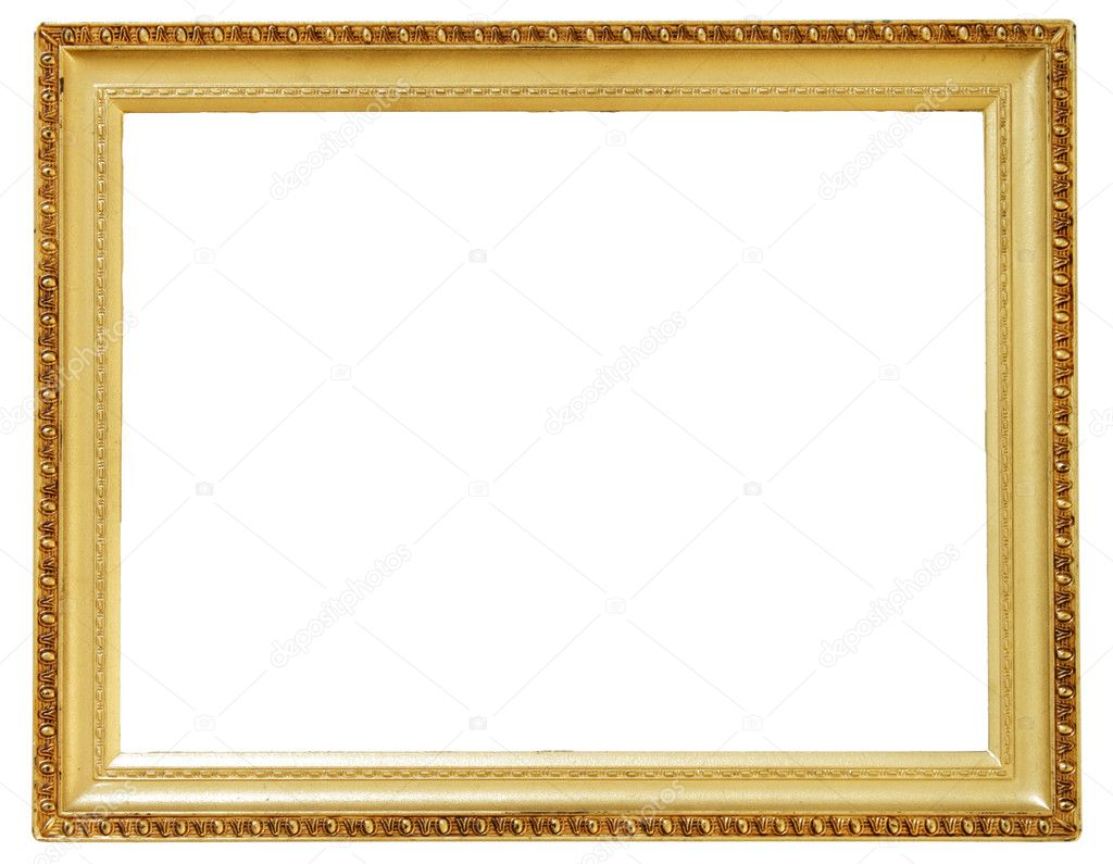 Picture gold frame  Stock Photo #2440866