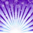 Lilas christmas background — Stock Photo