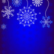 Royalty-Free Stock Vector Image: Christmas background with snowflakes