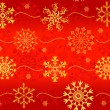 Royalty-Free Stock 矢量图片: Seamless christmas red pattern