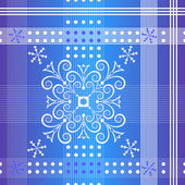 Seamless christmas section pattern — Stock Vector
