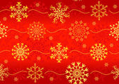 Seamless christmas red pattern — Stock Vector