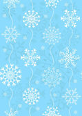 Seamless christmas blue pattern (vector) — Stock Vector