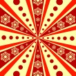 Royalty-Free Stock Imagen vectorial: Christmas abstract  background