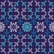 Royalty-Free Stock Vector Image: Violet christmas seamless pattern