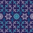 Violet christmas seamless pattern — Stock Vector #1010264
