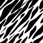 Seamless zebra texture — Stock Vector