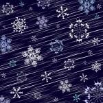 fundo de inverno azul escuro — Vetorial Stock