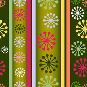 Striped retro seamless background — Stock Vector