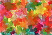 Abstract background from maple leaves — Stock Photo
