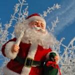 Постер, плакат: Toy Santa Claus Christmas card