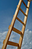 Ladder wooden — Stock Photo