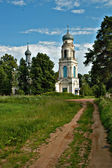 Rural orthodox church — Stock Photo