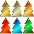 Royalty-Free Stock : Set of metallic a charms