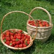 Stock Photo: Strawberry Baskets