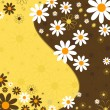 Royalty-Free Stock Imagen vectorial: Abstract floral background (vector)