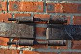 Metal coupler (bandage) — Stock Photo
