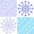 Royalty-Free Stock Vector Image: Set christmas pastel pattern