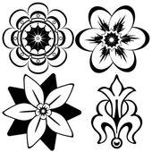 Vintage floral elements — Stock Vector