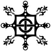Vintage decorative ornament — Stock Vector