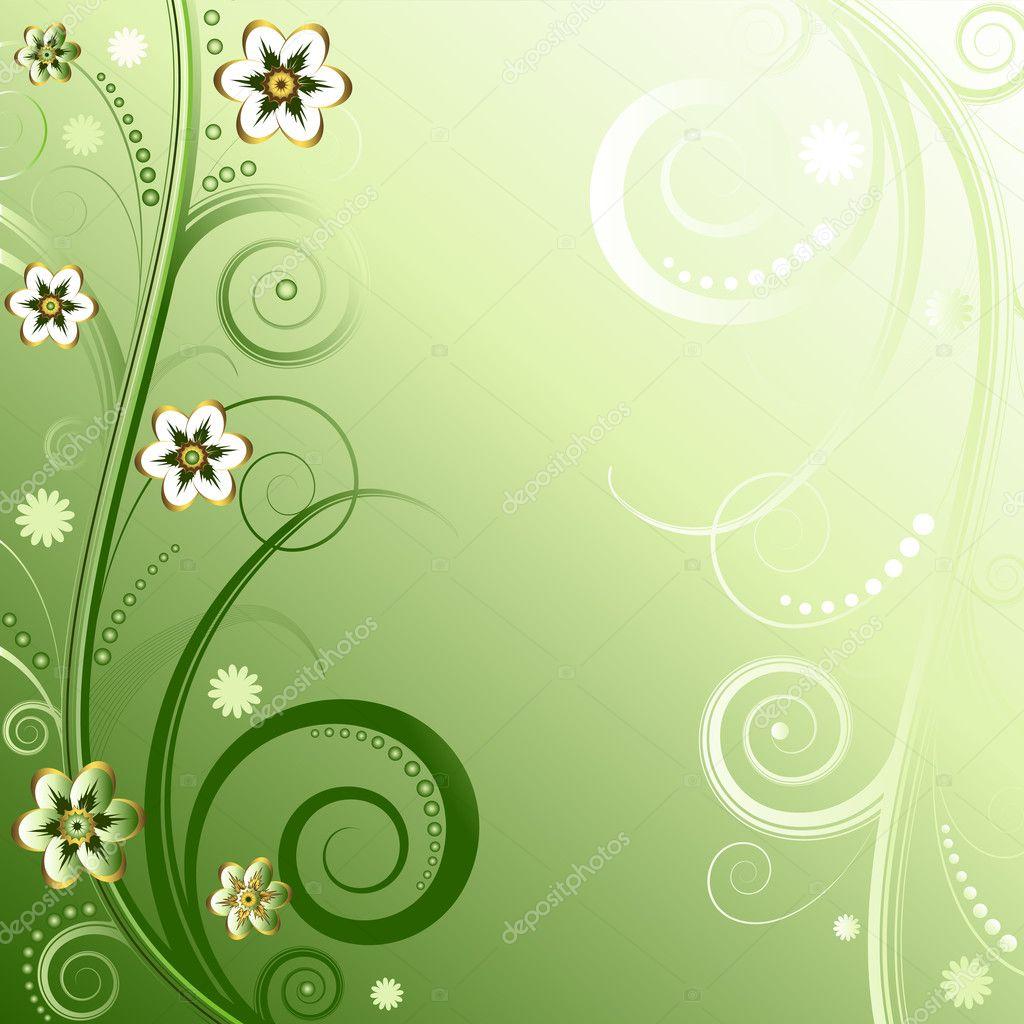 Visualize Flourish Vintage Background Vector Graphic Mdash Elegant ...