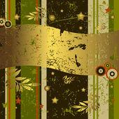 Retro grunge background (vector) — Stock Vector