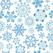 Seamless christmas pattern — Vettoriali Stock